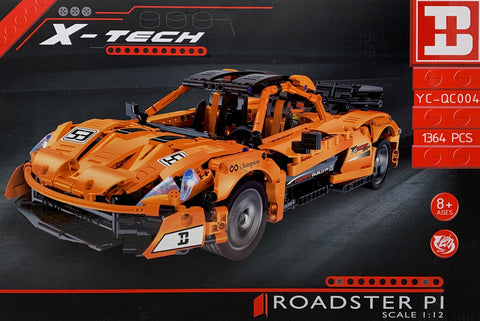 Happy Build YC-QC004 McLaren P1 Roadster (LEGO STYLE MOTORIZED MODEL)
