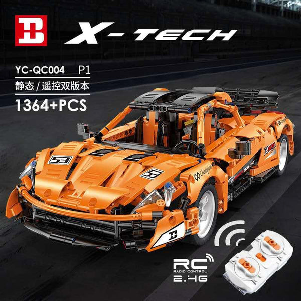 McLaren P1 Roadster Happy Build YC-QC004 (LEGO STYLE MOTORIZED MODEL)