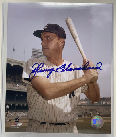 Johnny Blanchard Autograph Photo