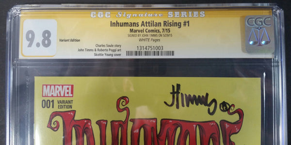 Inhumans Attilan Rising #1 Variant Cover SS Top