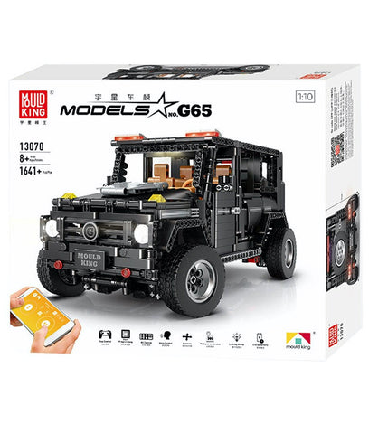 Mercedes Benz AMG G65 MOC-2425 Mould King 13070  Mercedes Benz G (LEGO STYLE MOTORIZED MODEL) N