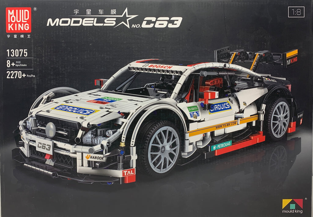 Mercedes Benz C63 AMG Mould King 13075 (LEGO STYLE STATIC MODEL)