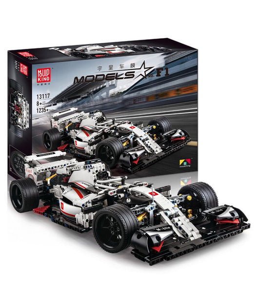 Mould King 13117 F1 Racing Car Brick Set (LEGO STYLE MODEL)