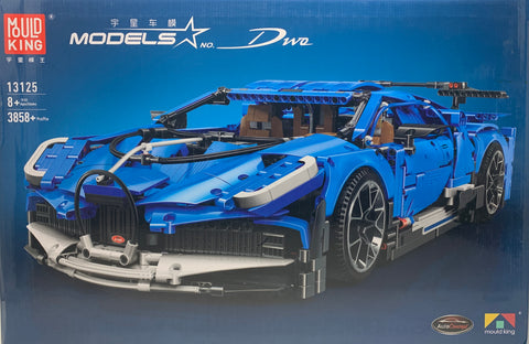 Bugatti Dwo Mould King 13125 (LEGO STYLE STATIC MODEL)