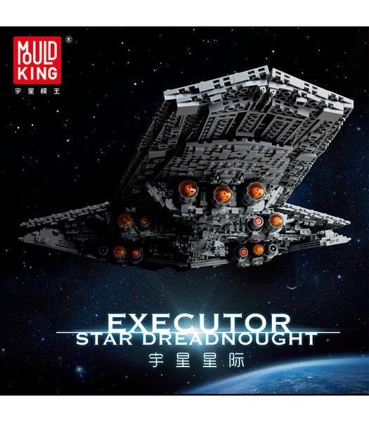 Mould King 13134 Executor Class Star Dreadnought Building Block Toy Set