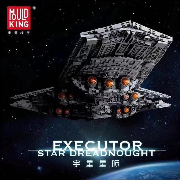Star Wars Executor Class Star Dreadnought Mould King 13134 Building Block Toy Set