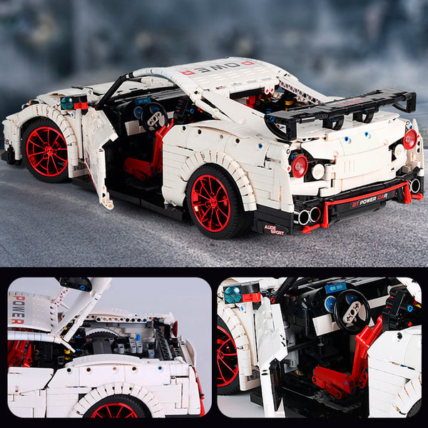 The Nismo Nissan GTR GT3 Mould King 13172(LEGO STYLE STATIC MODEL)