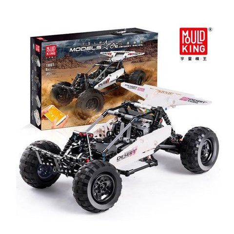 Desert Racing Super Buggy Mould King 18001 (LEGO STYLE MOTORIZED MODEL)