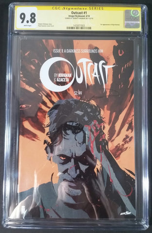 Outcast #1 CGC 9.8 SS Front