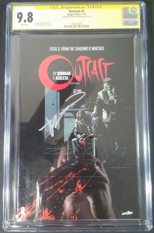 Outcast #2 CGC 9.8 SS Front
