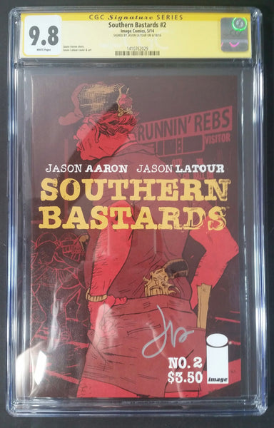 Southern Bastards #2 CGC 9.8 SS Front