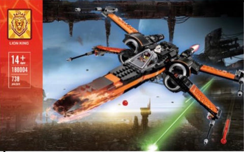 Star Wars Poe Dameron X-Wing  MOC Star World 81006 Ships From USA