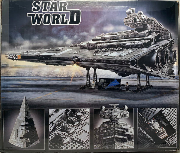 Star Wars Imperial Star Destroyer MOC 75252 Star World 81098