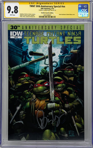 Teenage Mutant Ninja Turtles: 30th Anniversary #1 RI CGC 9.8 SS Simon Bisley
