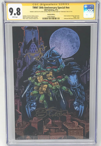 Teenage Mutant Ninja Turtles 30th Anniversary #1 Virgin CGC 9.8 SS Kevin Eastman/Tom Waltz