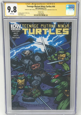 Teenage Mutant Ninja Turtles #44 CGC 9.8 SS Kevin Eastman & Tom Waltz