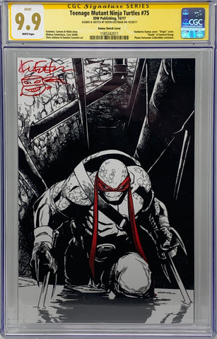 Teenage Mutant Ninja Turtles #75 IDW Virgin Cover RE CGC SS 9.9 Kevin Eastman