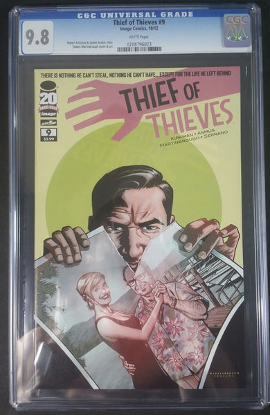 Theif Of Thieves #9 CGC 9.8 Front