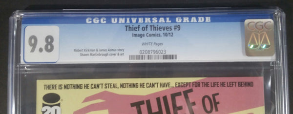 Theif Of Thieves #9 CGC 9.8 Top