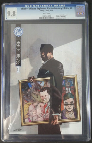 Thief of Thieves #1 5th Anniversary Edition (Reprint) CGC 9.8