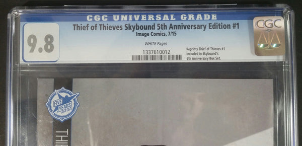 Thief of Thiefs #1 5th Anniversary Edition (Reprint) CGC 9.8