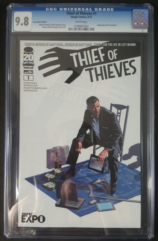 Thief of Thiefs #1 Image Expo Edition/Convention Edition CGC 9.8