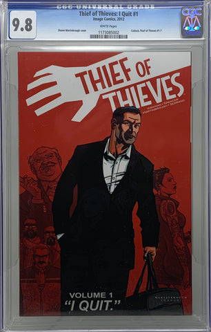 Thief of Thieves #1 Quit #1 CGC 9.8