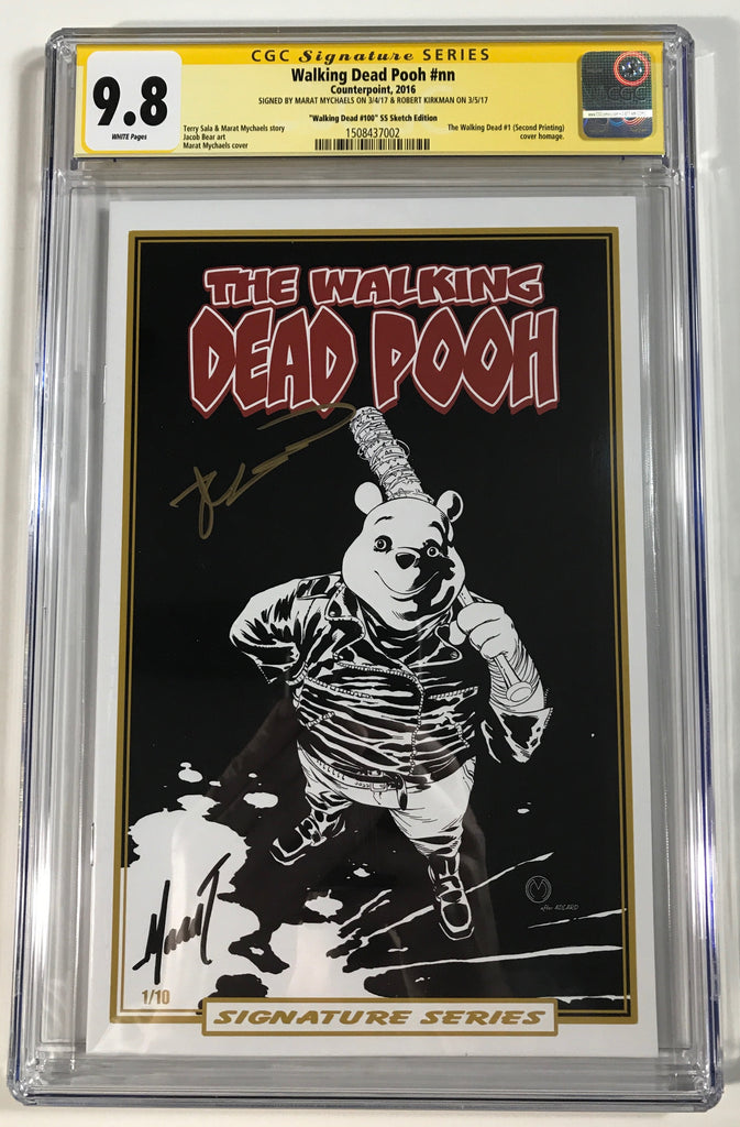 The Walking Dead Pooh #100 2nd Print Homage Limited Edition Signature Series