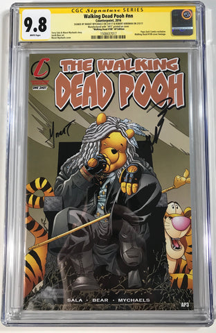 Walking Dead Pooh #nn CGC 9.8 SS Kirkman & Mychaels Homage to WD108 AP Edition