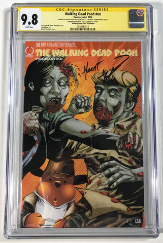 Walking Dead Pooh #nn CGC 9.8 SS Kirkman & Mychaels Homage to WD146 AP Edition