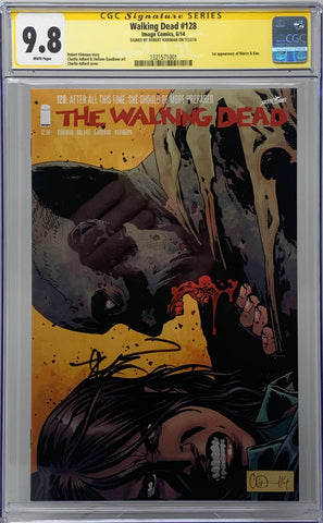 The Walking Dead #128 CGC SS 9.8 Robert Kirkman