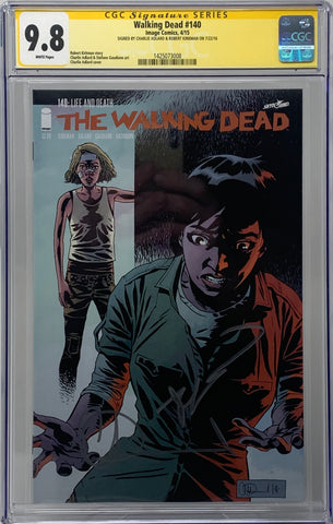 The Walking Dead #140 CGC SS 9.8 Robert Kirkman & Charlie Adlard