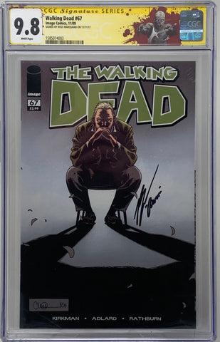 The Walking Dead #67 CGC SS 9.8 Ross Marquand