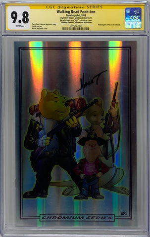 "Walking Dead Pooh #nn ""Walking Dead #3"" Chromium AP3 CGC SS 9.8"