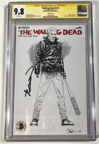 The Walking Dead #163 CGC 9.8 SS Robert Kirkman 1:500