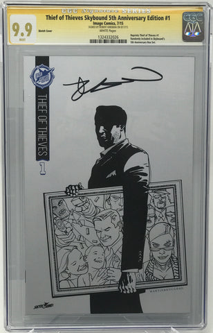 Thief of Thieves Skybound 5th Anniversary Edition #1 CGC 9.9 SS Robert Kirkman