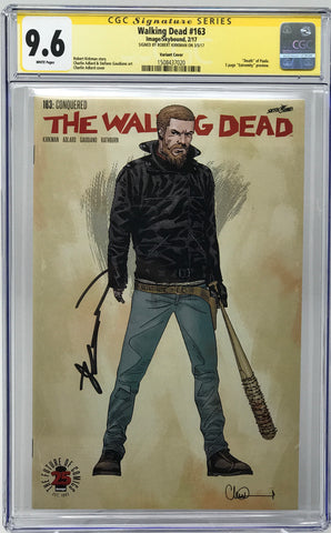 The Walking Dead #163 CGC 9.6 SS Robert Kirkman 1:200