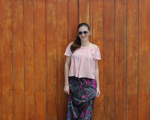 Blusa off the shoulder - Viste lo que Viste