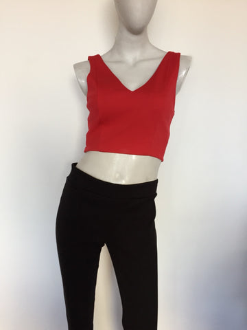Crop top rojo - Viste lo que Viste