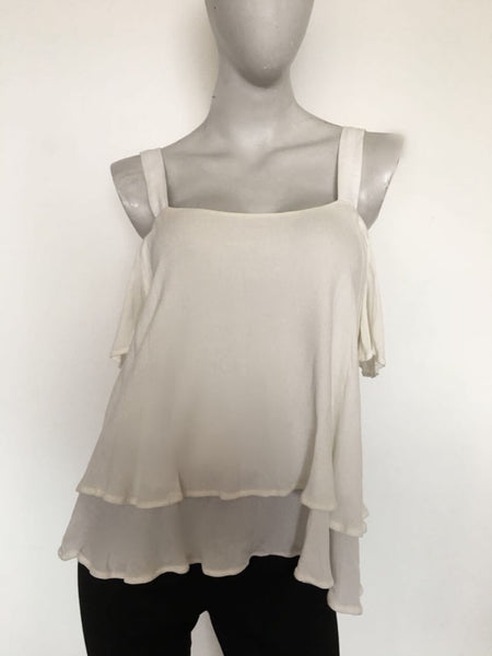 Blusa off the shoulder blanca - Viste lo que Viste