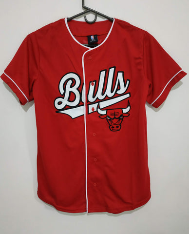 Camiseta beisbol Chicago Bulls