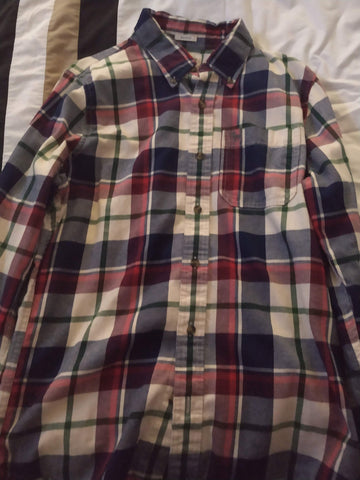 Camisa a cuadros Abercrombie