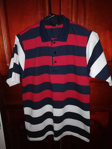 Camiseta polo rayas