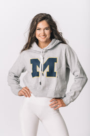 University of Michigan Wolverines Women's Crop hoodie