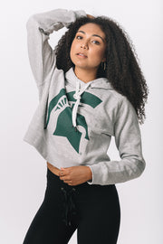 Michigan State Spartans Cozy Crop Hoodie