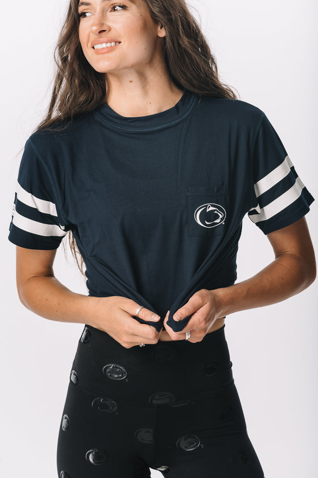 Penn State Nittany Lions Milky Silk Pocket Crop Tee