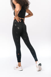 UCF Knights Tonal Black Legging
