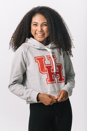 Houston Cougars Cozy Crop Hoodie