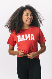 University of Alabama KadyLuxe® Women's Crop Tee