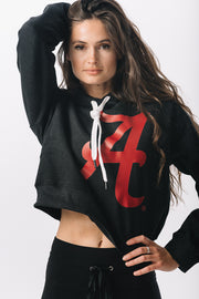 Alabama Crimson Tide Cozy Crop Hoodie